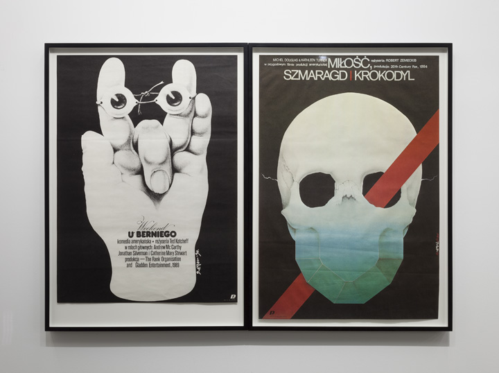 """Scott Benzel Biomorphism and Genre Confusion in Polish posters for American Comedies of the 1980′s, 2012"""