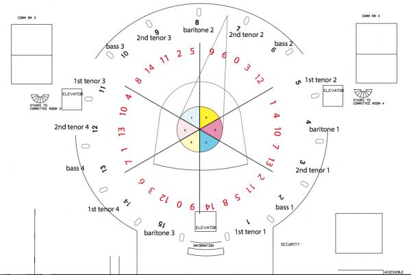 Split Chorale Plan